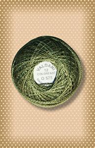 Crispy Leaf  Valdani Colorfast Perle Cotton