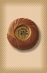 Golden Orange Brown Presencia Finca Perle Cotton