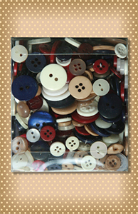 Variety Buttons Tote Bag Patriot