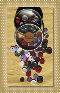 Button Tin Vintage Shades