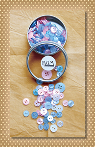 Button Tin Baby Shades