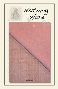 Ballerina Pink  Hand Dyed Woolen