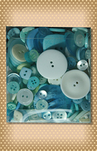 Variety Buttons Tote Bag Frost