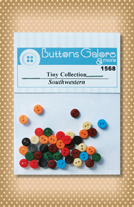 Button Package Tiny Southwestern