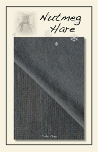 Cadet Grey Hand Dyed Woolen