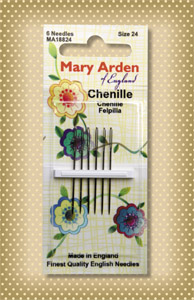 Mary Arden Needles, Chenille size 24