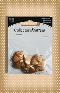Golden Acorn Buttons
