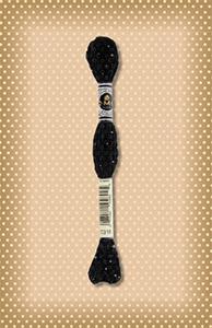 DMC Etoile Mouline sparkle black thread