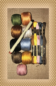 Dance with the Daffodils Thread Kit