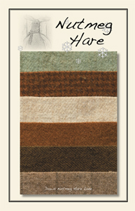 Down Nutmeg Hare Lane Woolen Charm Pack