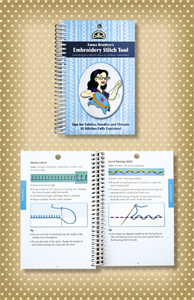 Embroidery Stitch Tool Book