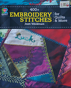 Embroidery Stitches for Quilts and More
