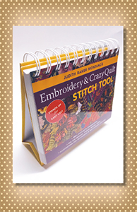 Embroidery and Crazy Quilt Stitch Tool Book