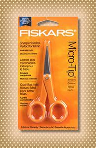 """Fiskars 5"""" Micro-Tip Scissors"""