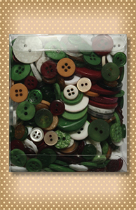 Variety Buttons Tote Bag Noel