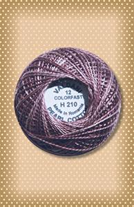 Melancholic Purple  Valdani Colorfast Perle Cotton