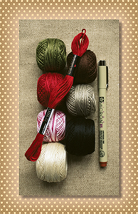 Hare's Tale of Love Thread Kit