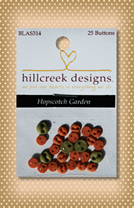 Button Package Hopscotch Garden