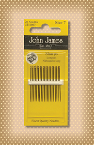 John James Sharps Needles ( size 7)
