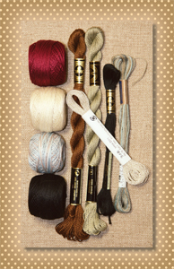 On a Snowy Winter Night Thread Kit