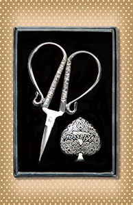 Klasse Antique Embroidery Scissor Gift  Set