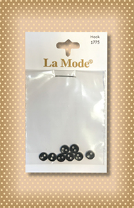 Button Package Perfect Tiny Black