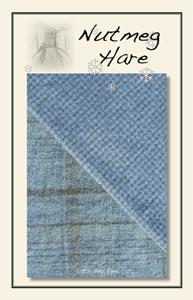 Little Boy Blue Hand Dyed Woolen