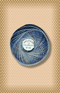 Denim Light  Valdani Colorfast Perle Cotton