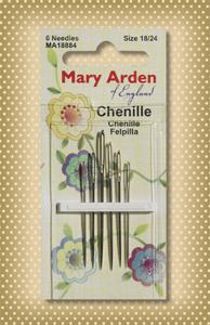 Mary Arden Chenille Needles (asst. size 18/24)