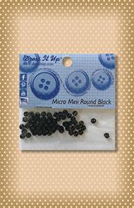 Button Package Micro Mini Black