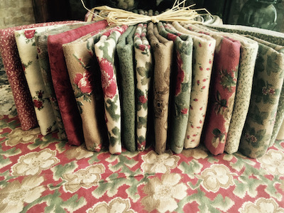 Vintage 17 Piece  Moda Folkart Christmas II by Robyn Pandolph