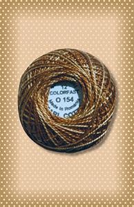 Dark Antique Gold Valdani Colorfast Perle Cotton