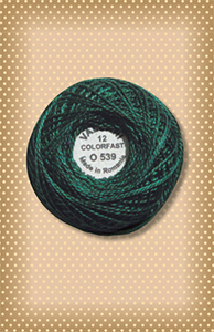 Evergreens Valdani Colorfast Perle Cotton