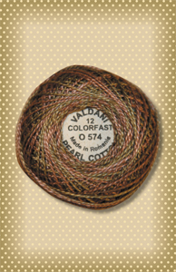 Dried Leaves Valdani Colorfast Perle Cotton