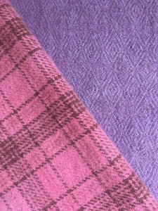 Ode to Lavender and Rose Hand Dyed Woolen