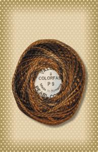 Bronze Valdani Colorfast Perle Cotton
