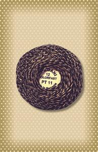 Twisted Tweed Valdani Dk. Pewter Perle Cotton