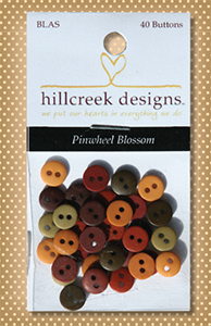 Button Package Pinwheel Blossom