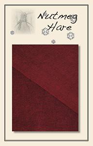 Red Geranium Hand Dyed Woolen