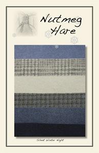Silent Winter Night Woolen Charm Pack