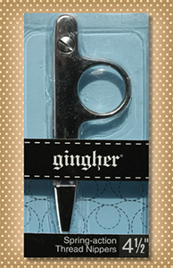 "Ginger 4 1/2"" Thread Nipper Scissors"