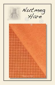 Tangerine Zest Hand Dyed Woolen-hand dyed wool woolen applique pattern floss embroidery thread chartreuse wool charm pack woolen