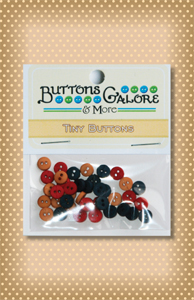 Button Package Tiny Americana