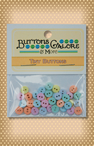 Button Package Tiny Pastel