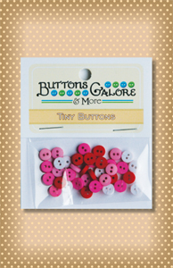Button Package Tiny Sweetheart