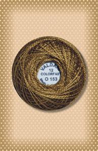 Golden Moss Valdani Colorfast Perle Cotton