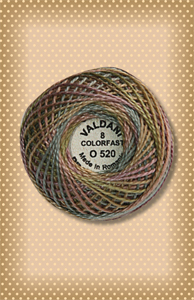 Vintage Pastels Valdani Colorfast Perle Cotton