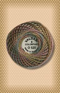 Vintage Pastels Valdani Colorfast Perle Cotton