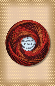 Golden Autumn Valdani Colorfast Perle Cotton
