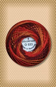 Golden Autumn Valdani Colorfast Perle Cotton